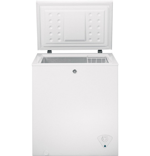 congelador horizontal ge® modelo fcm5skww (5p³) nueva caja
