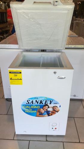 congelador horizontal sankey® rfc-356 (3.5p) nueva en caja
