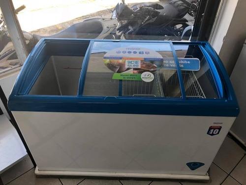 congelador telstar puertas de vidrio curvo (9p³) nueva caja