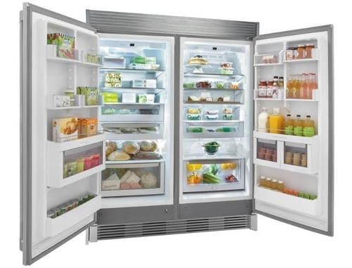 congelador vertical fridaire® fgfu19f6q (19p³) nueva en caja