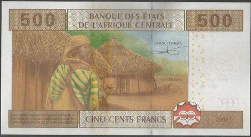 congo 500 francs 2002 p106t