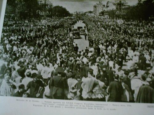 congreso eucaristico 1934 libro fotos  escudo genero justo