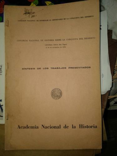 congreso nacional de historia sobre la conquista del desiert