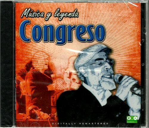 congreso   serie música y leyenda  cd nuevo y sellado