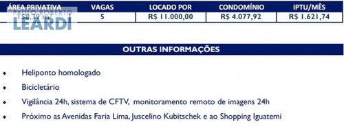 conj. comercial itaim bibi  - são paulo - ref: 528461