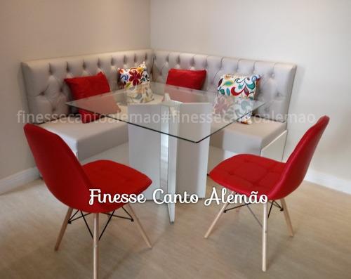 conj. sala de jantar /estilo canto alemão e mesa