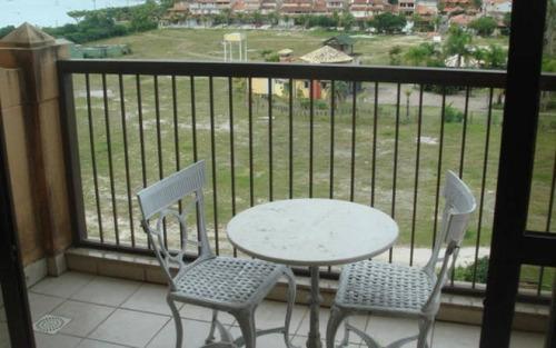 conjugado suite & studio no jurere beach village com vista para o mar