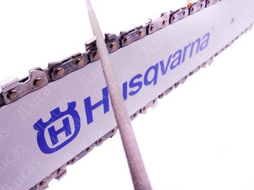 conjunto 12 lima redonda husqvarna motosserra 4,0mm 5/32