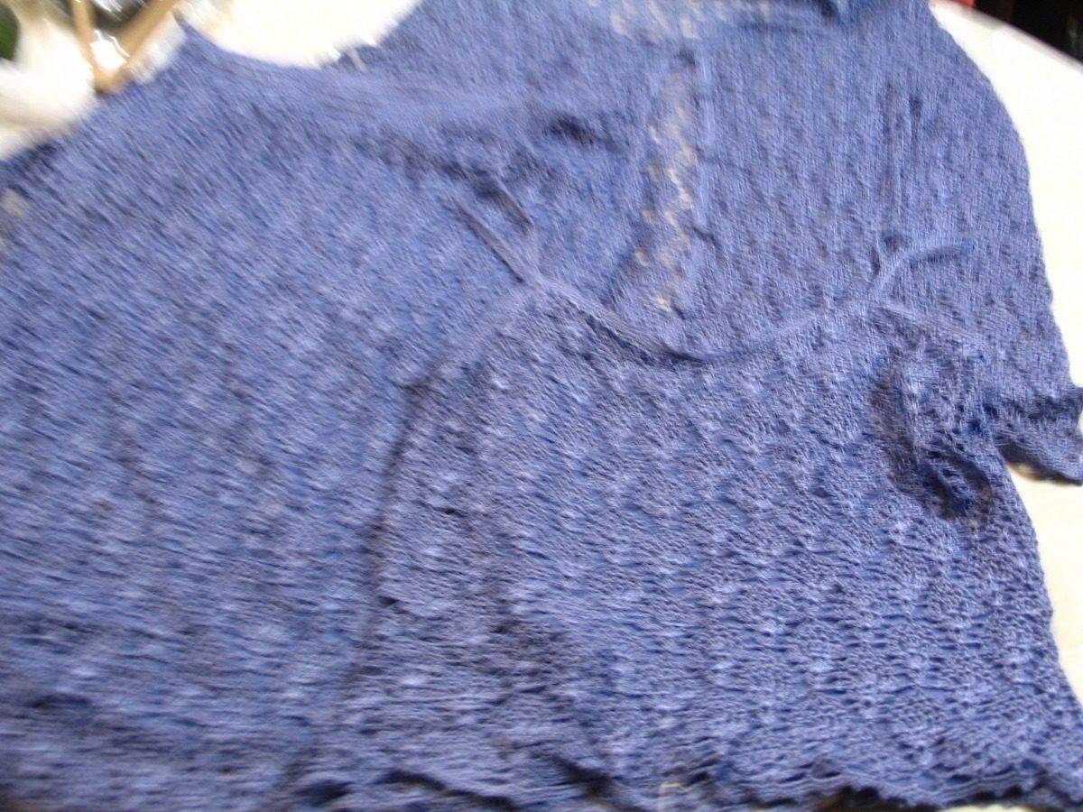 Falda Lila A Crochet