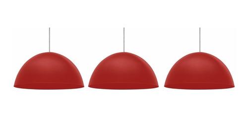 conjunto 3 un pendente td 821f taschibra - escolha as cores