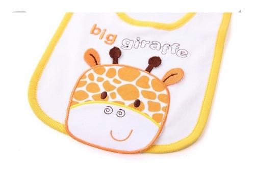 conjunto 5 peças girafinha