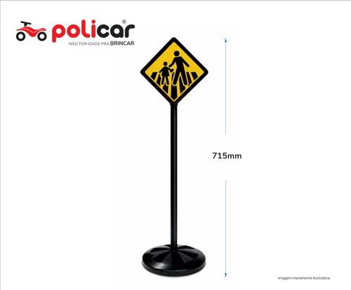 conjunto 5 placas educativas de brinquedo - policar® 7287