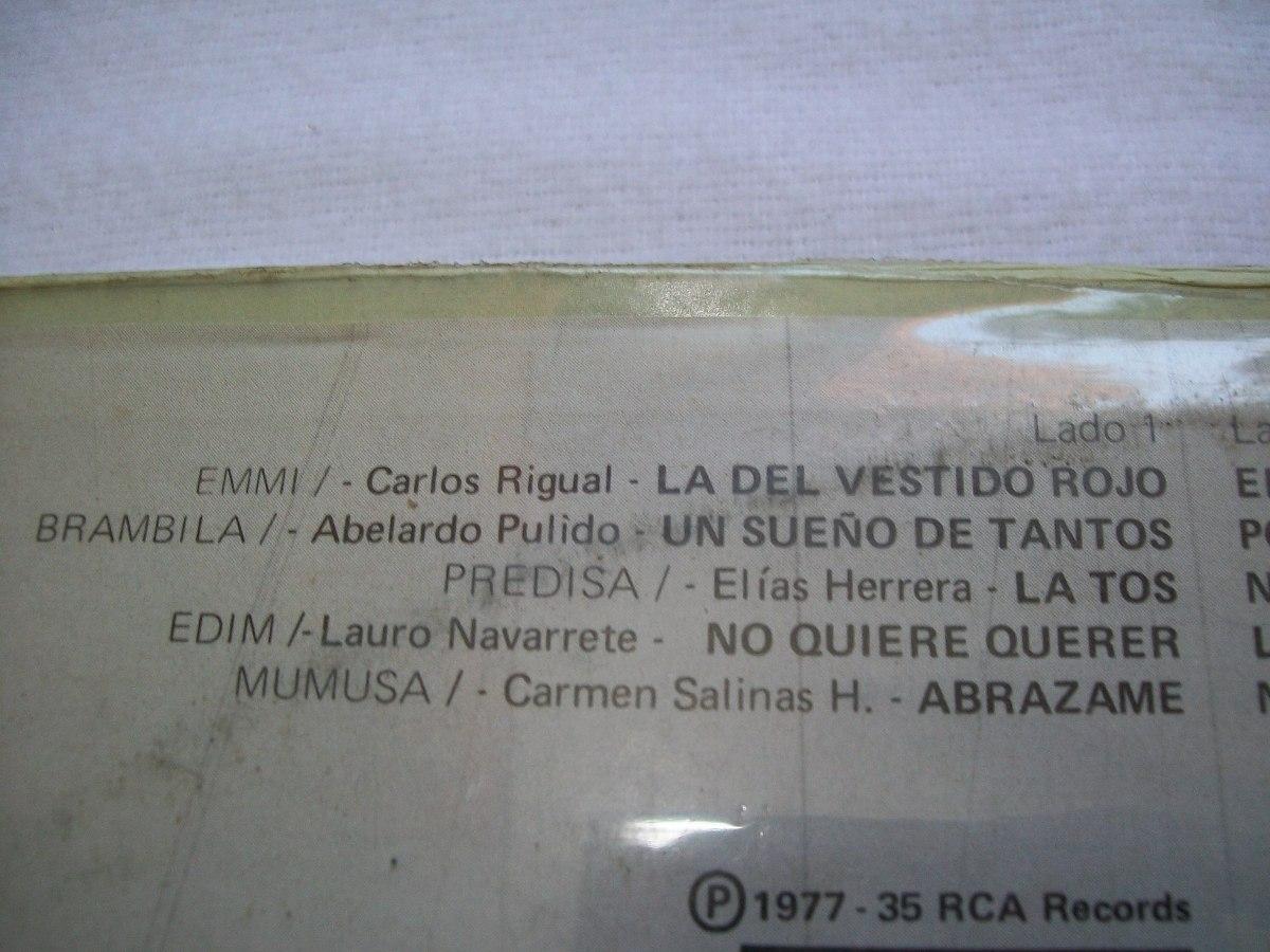 Conjunto Acapulco Tropical La Del Vestido Rojodisco Lp