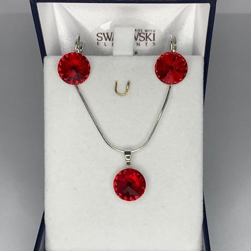 conjunto acero cristal modelo crystal red passion