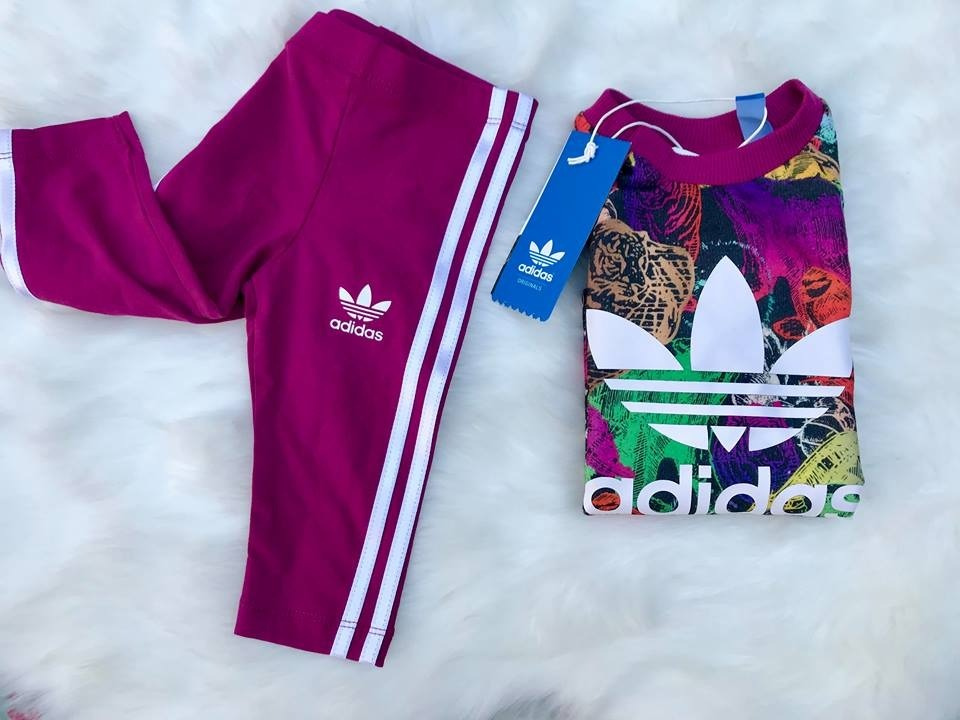fcfc443d3 Nena Meses Para Original Bebe Conjunto Adidas 9 Deportivo 6 xq0n4BgUZ