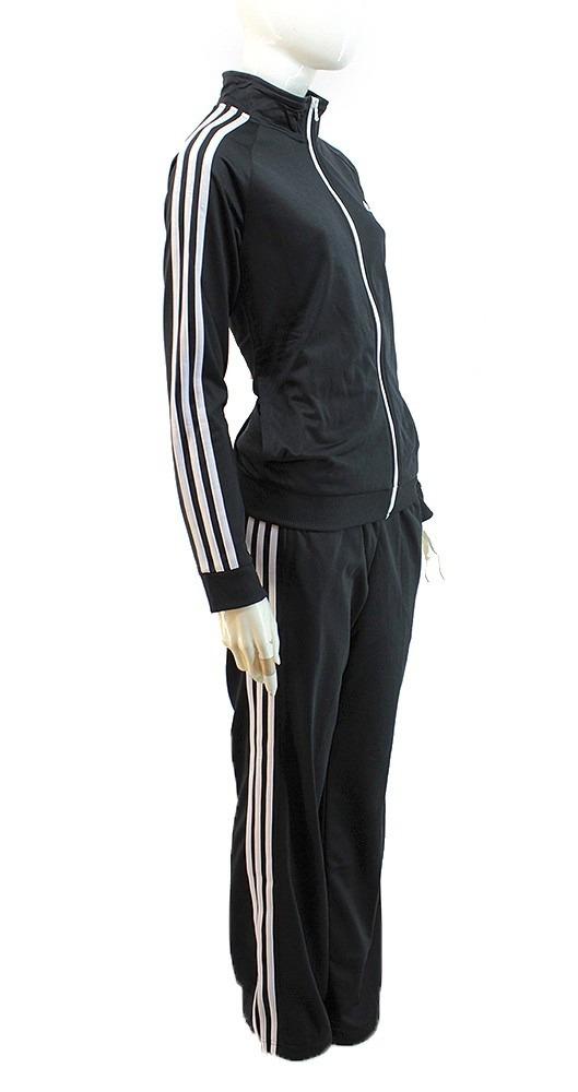3cf00b778f4 conjunto adidas acetato training negro mujer   deporfan. Cargando zoom.