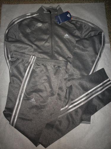 conjunto adidas campera + pantalón - talle x l -