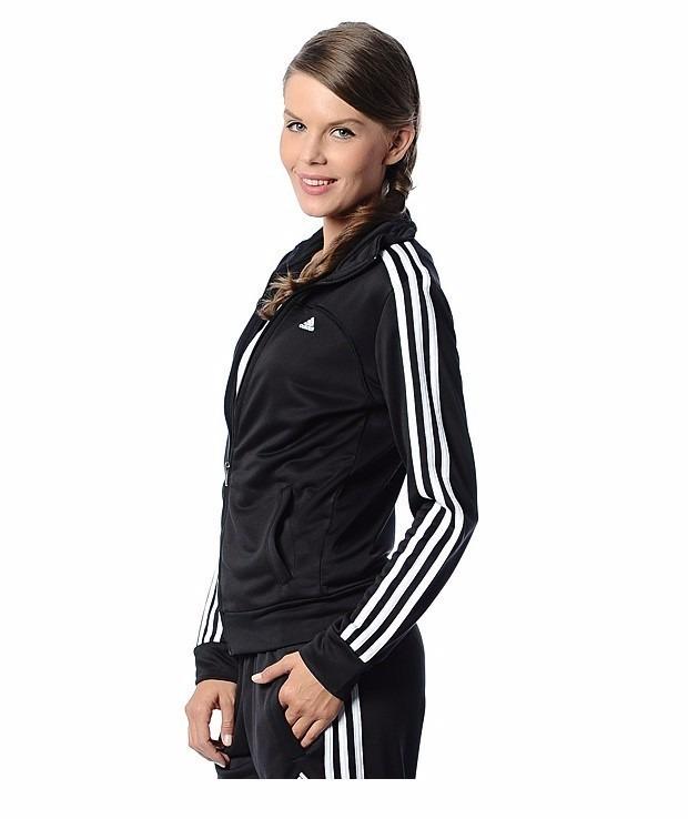 5766b046942 Conjunto adidas Deportivo Mujer Ess 3s Kn Suit Climalite Xxs ...
