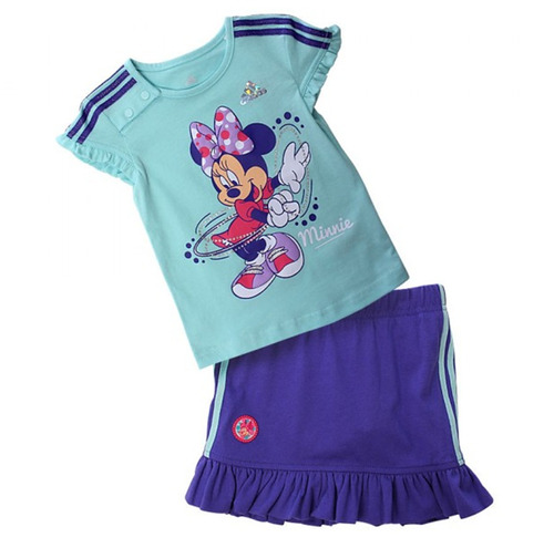 conjunto adidas disney minnie mouse infantil 12 meses