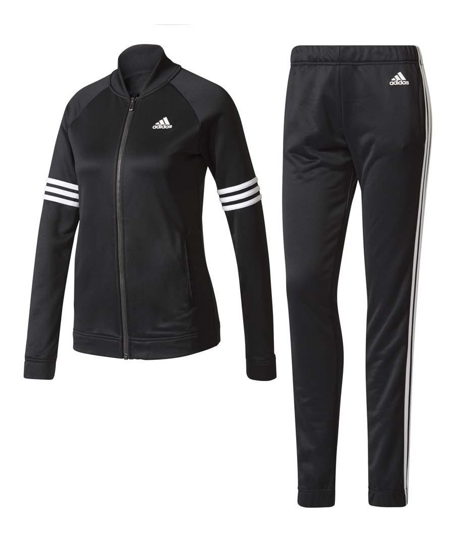 Conjunto adidas, Pants Y Chamarra Para Dama Pes Cosy Negro M