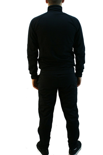 conjunto adidas real madrid acetato negro hombre deporfan