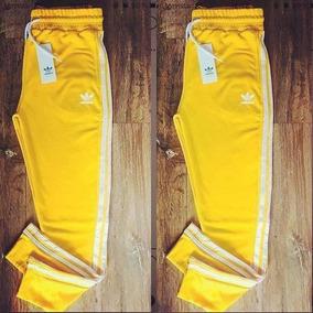 zapatos deportivos oferta especial vende Pantalones Adidas Amarillo - Conjuntos Deportivos de Mujer ...