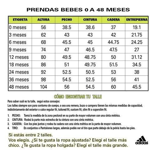 conjunto adidas training i graphic bebe fr/mn