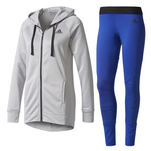 conjunto adidas training pes mujer gr/fr