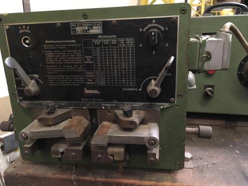 conjunto afiladora y soldadora sierras sin fin 50mm alemana