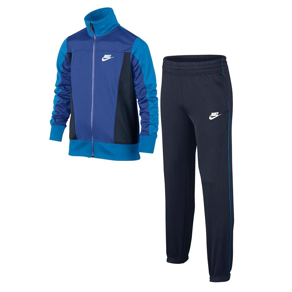 Conjunto Agasalho Nike Infantil Menino 805472481 Azul - R  189 fe741e38d23ca