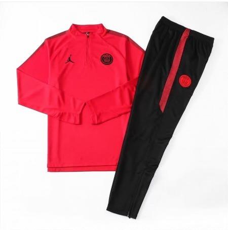 e89b8a9f8cb Conjunto Agasalho Psg Jordan X Red 18 19 - Frete Grátis - R  339