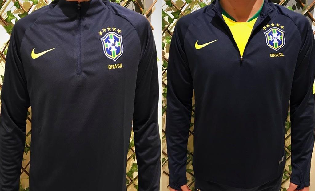 3e66d265b3 conjunto agasalho seleção brasil calça e blusa adulto nike. Carregando zoom.