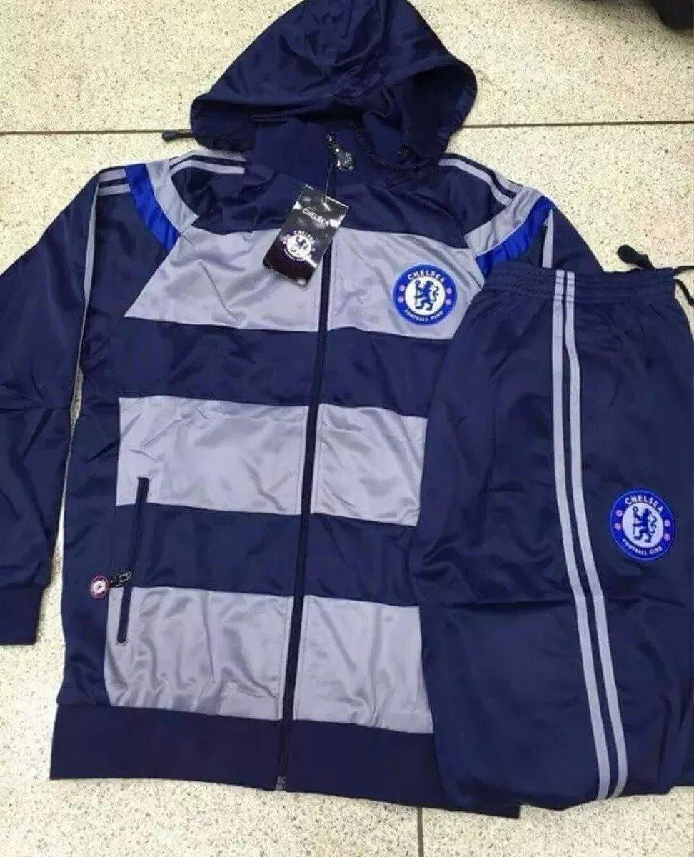 Conjunto Agasalho Time Chelsea Ou Arsenal - R  200 9904a4077c408