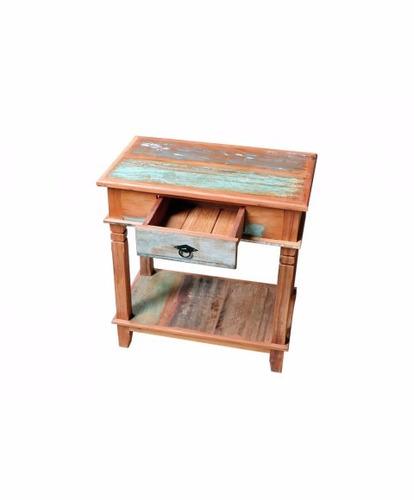 conjunto aparadores com pátina 1,5m e 70cm madeira demolição