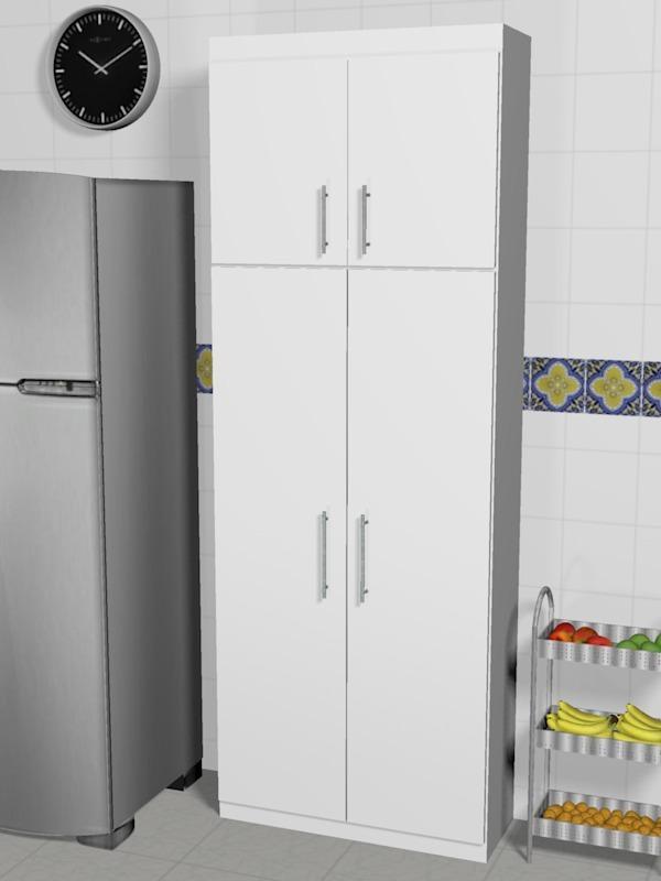 Conjunto arm rios alto 2 portas cozinha e despensa r - Armarios para despensa ...