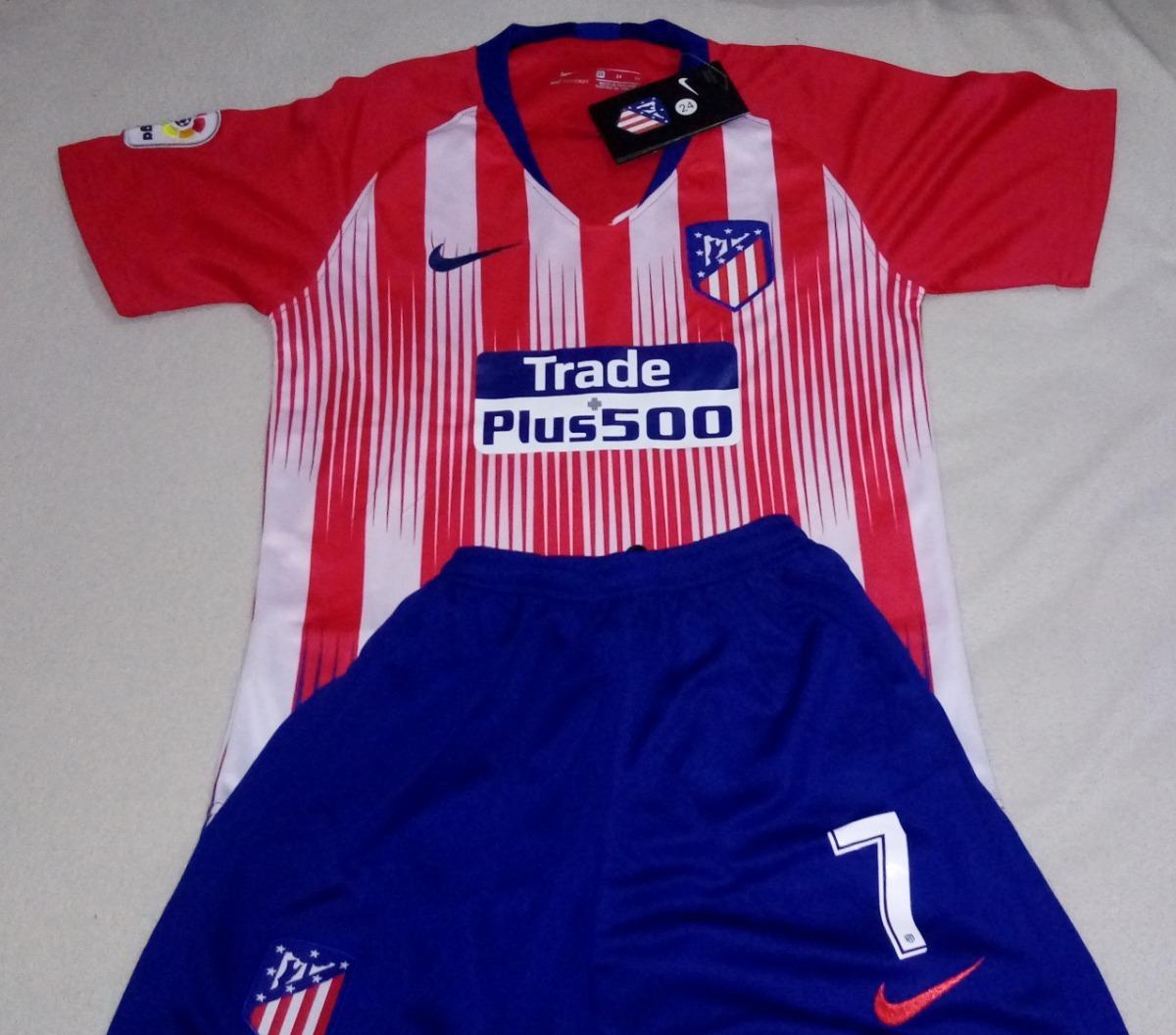 603bc08a1d105 Conjunto Atlético Madrid Niño Griezmann Nuevo Talla 10 -   22.500 en ...