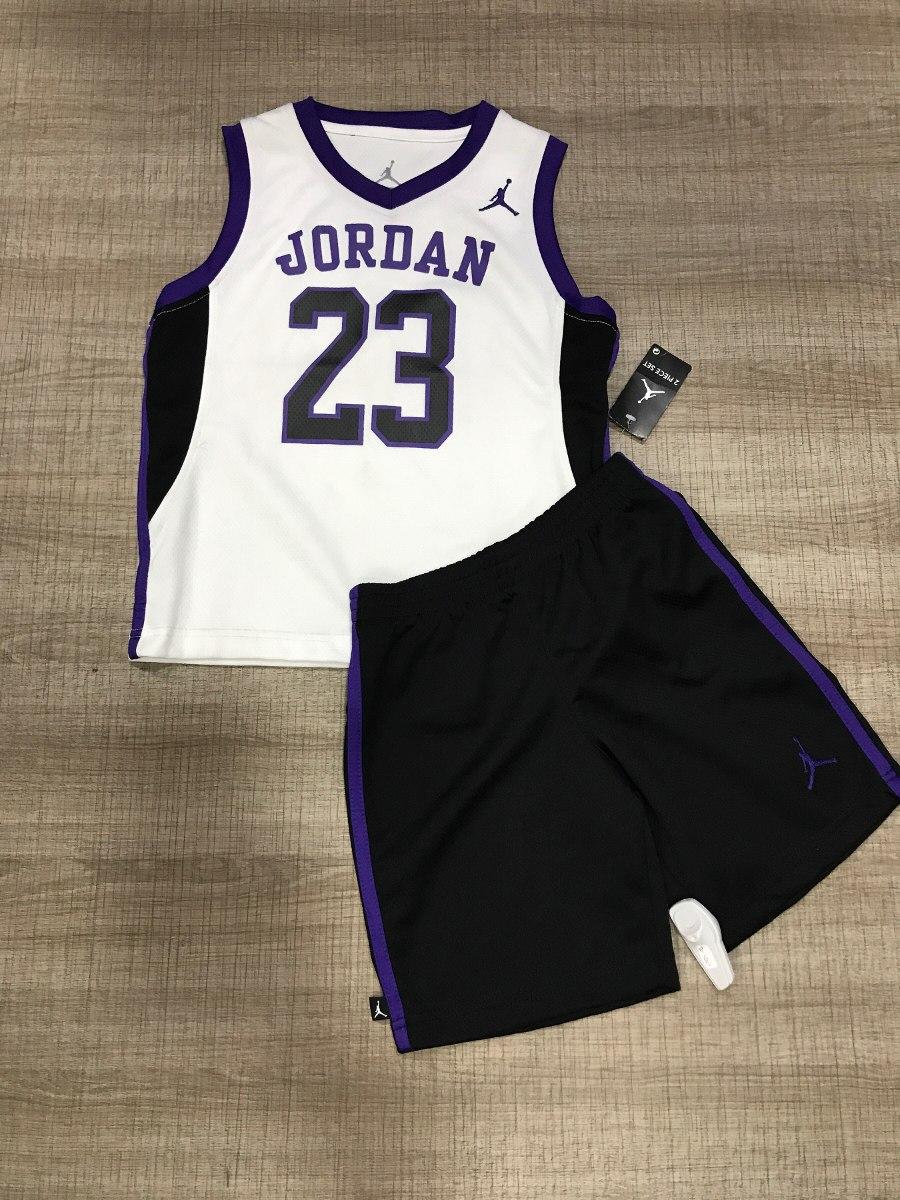 8b03cb0a0f Conjunto Baloncesto Jordan Para Niños - $ 90.000 en Mercado Libre