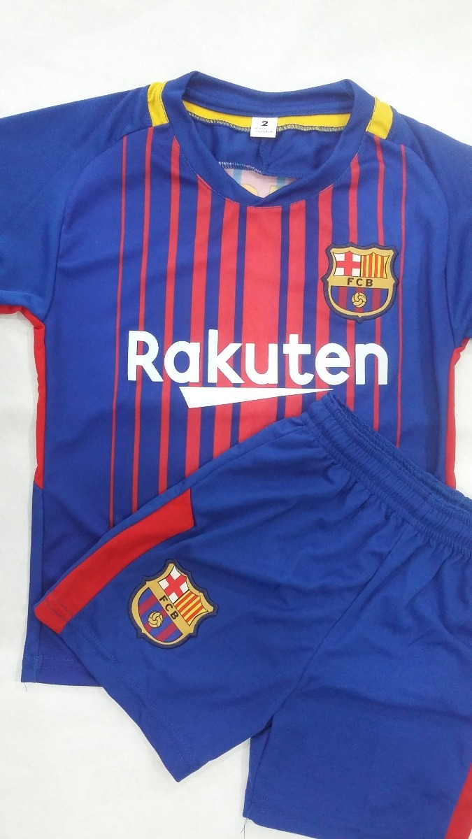 Conjunto Barcelona Niño 2018 - Camiseta cf237055fbb1e