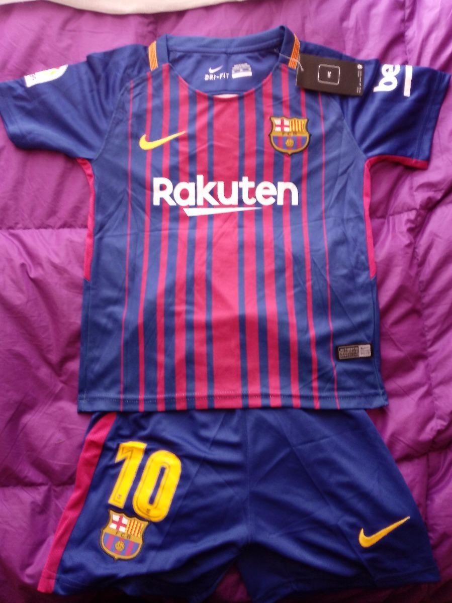 Conjunto Barcelona Para Niño Messi Camiseta + Short Talla 12 ... b421d4c031f
