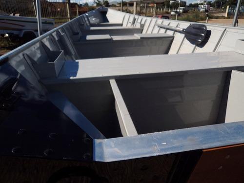 conjunto barco alumínio life 600 + 15hp mercury + carretinha