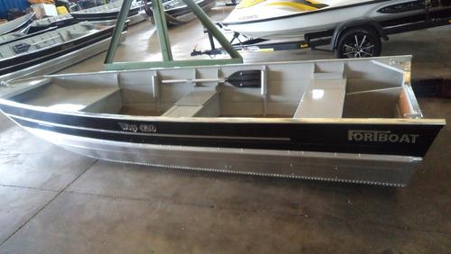 conjunto barco alumínio way 420 +9.9hp mercury + carretinha