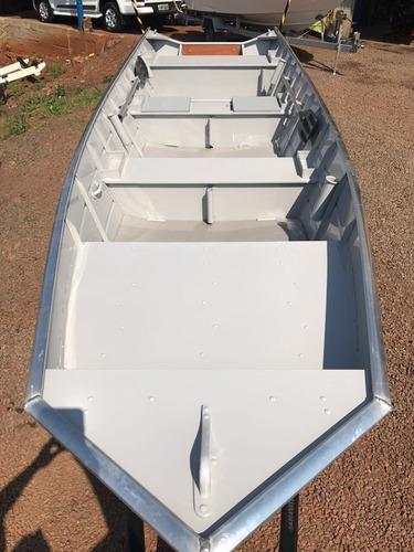 conjunto barco alumínio way 500 +25hp mercury + carretinha