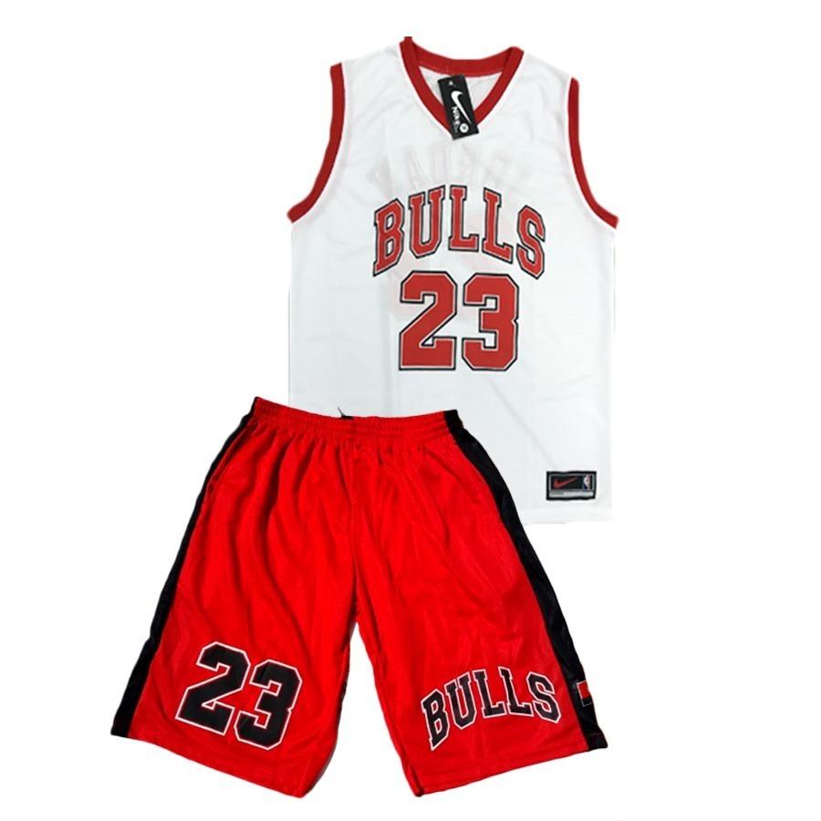 b87e8a2ecb conjunto basquete adulto nba chicago bulls jordan regata. Carregando zoom.