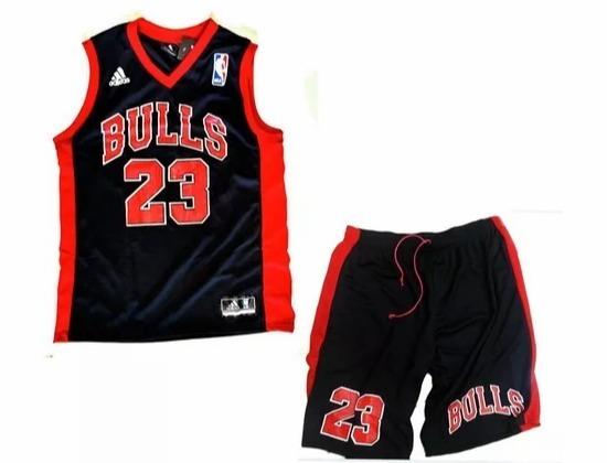 c79030c77d Conjunto Basquete Adulto Nba Chicago Bulls Jordan Regata - R  89