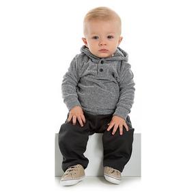 67929b0f202f7d Conjunto Bebê Inverno Menino Moletom Infantil Calça E Blusa