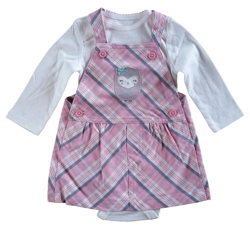 conjunto bebé 7 - child of mine / carters - 3-6 m - algodón