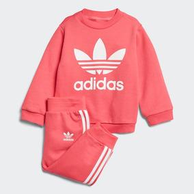 llega Mitad de precio Tienda online Conjunto Bebé adidas Originals Crew