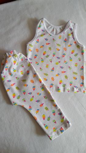 conjunto bebes y  niñas 3-6-9-12 meses talla 2-4-6