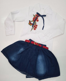 92646c856e Faldas En Jeans Y Blusas en Mercado Libre Colombia