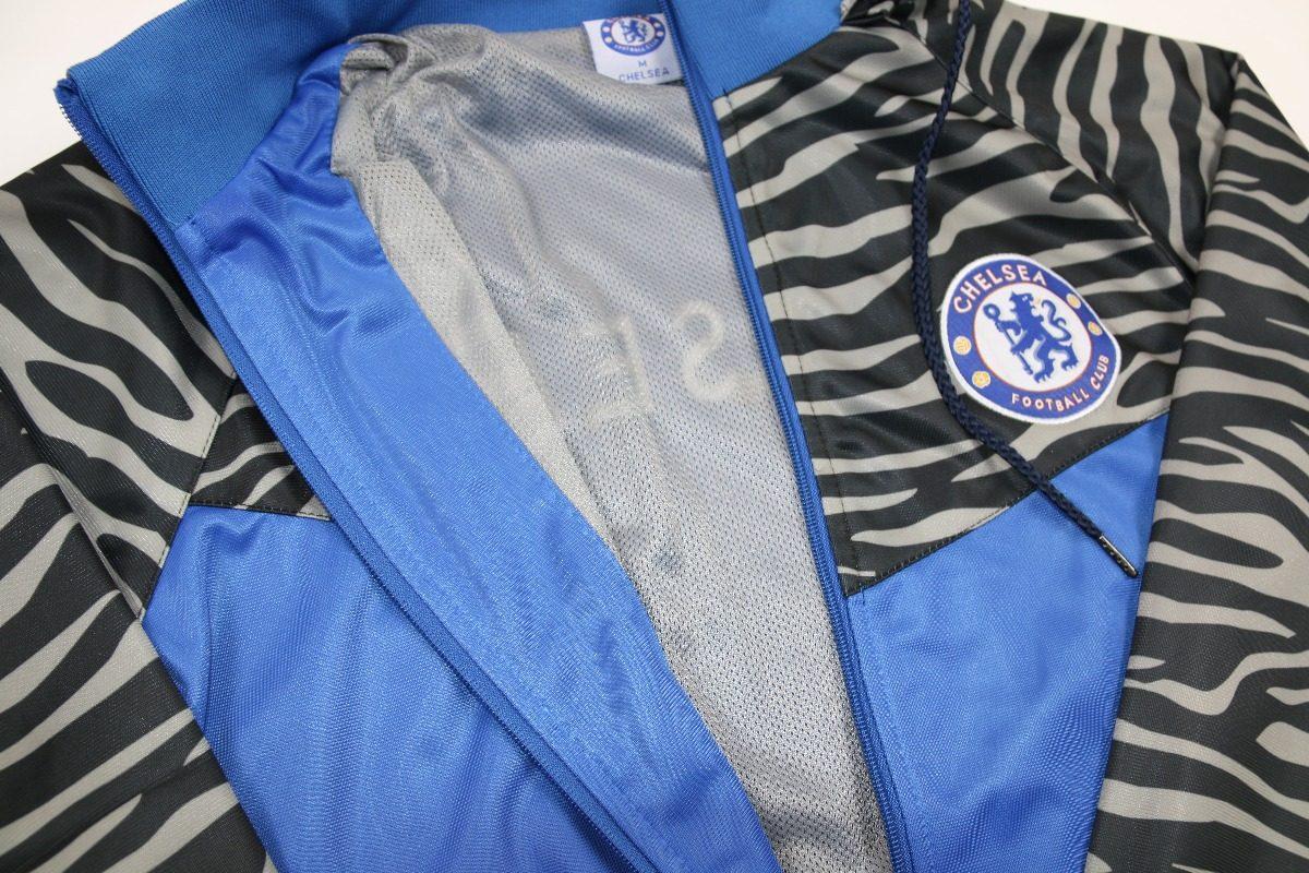conjunto blusa e calca agasalho de time chelsea masculino. Carregando zoom. 9ff8bb2b658af